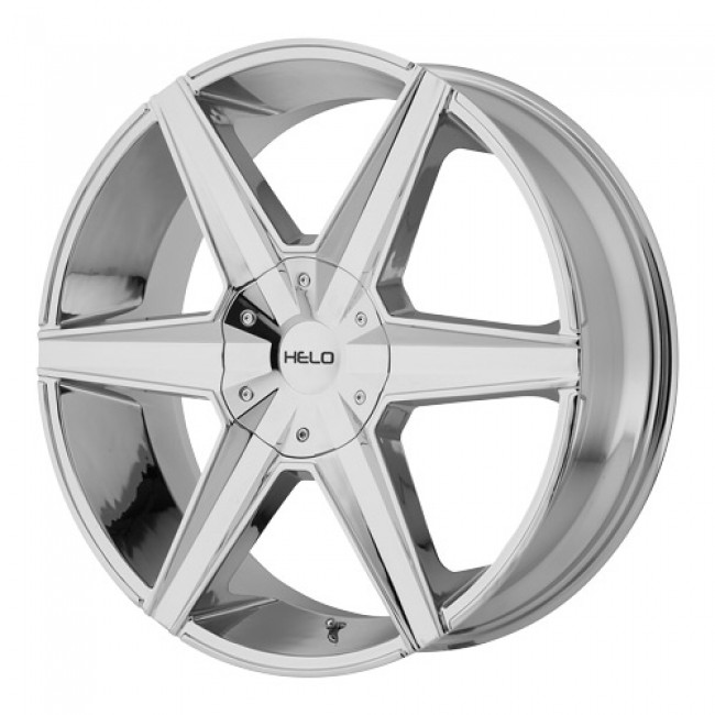 Helo Wheels HE887, Chrome wheel