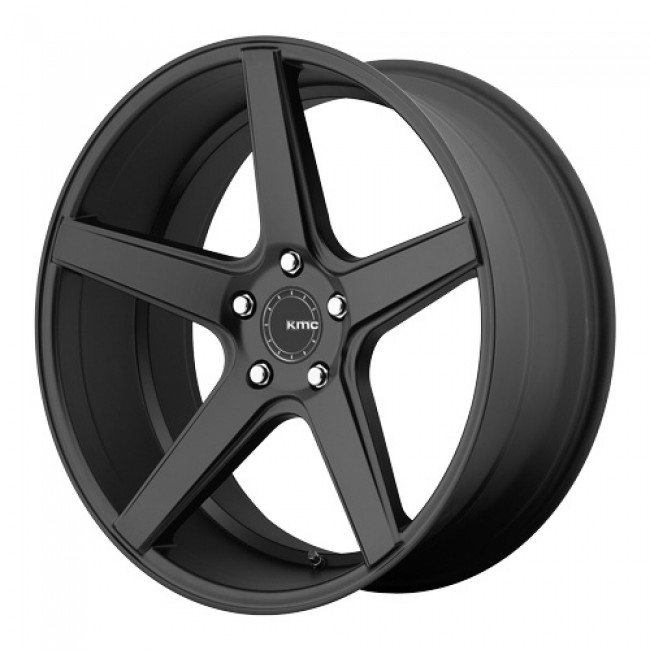 KMC Wheels District, Satin Black wheel