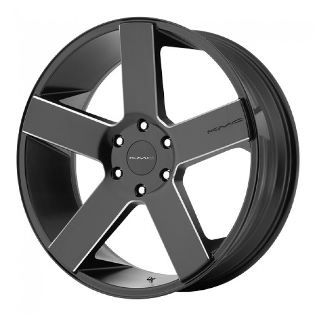 KMC Wheels MC 5, Satin Black wheel