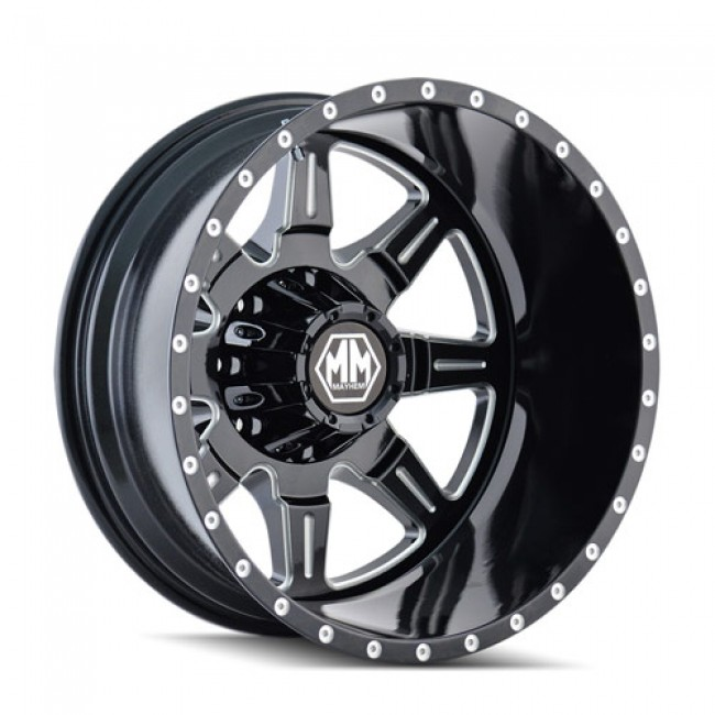 Mayhem MONSTIR, Machine Black wheel