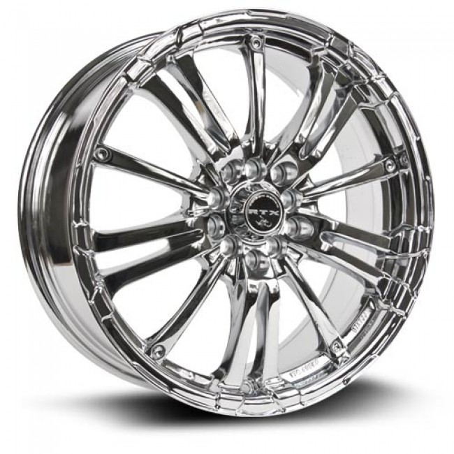 RTX Wheels Arsenic, Chrome Plaque/Chrome Plated, 17X7, 5x100/114.3 ( offset/deport 42), 73.1