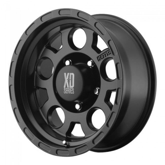 XD Series by KMC Wheels XD122 ENDURO, Matte Black wheel