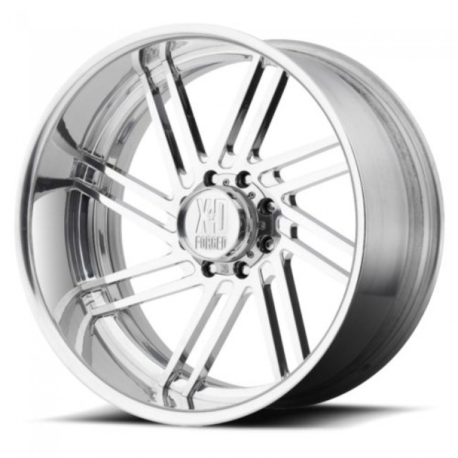 XD Series by KMC Wheels XD406 FRINGE, Polished wheel