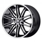 Asanti Black POLLUX wheel