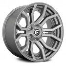 FUEL DC713 RAGE PLATINUM wheel