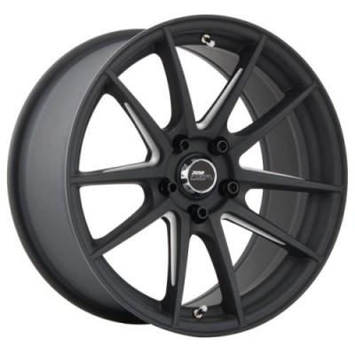 720 Form GTF1 Matt Black Machine wheel (17X9.0, 5x120, 72.6, 30 offset)