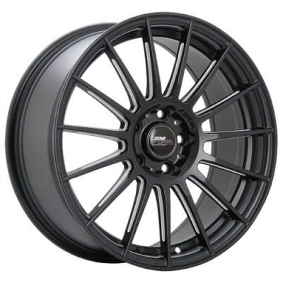 720 Form GTF3 Satin Black wheel (17X7.5, 5x100, 73.1, 42 offset)