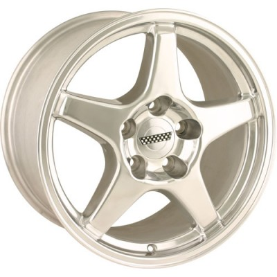 Detroit  840 Polished wheel (17X11, 5x120.65, 70.7, 50 offset)
