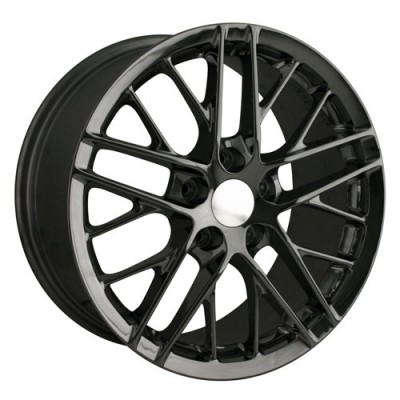 Detroit  845 Black wheel (19X10, 5x120.65, 70.3, 68 offset)