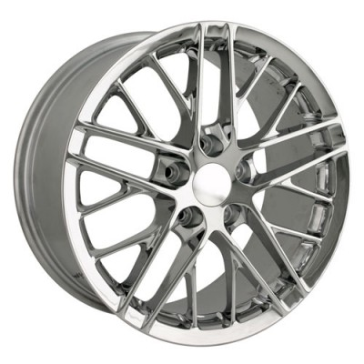 Detroit  845 Chrome wheel (19X10, 5x120.65, 70.3, 68 offset)