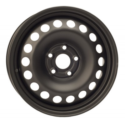 PMC Steel Wheels Black wheel (15X6, 5x105, 57.1, 33 offset)