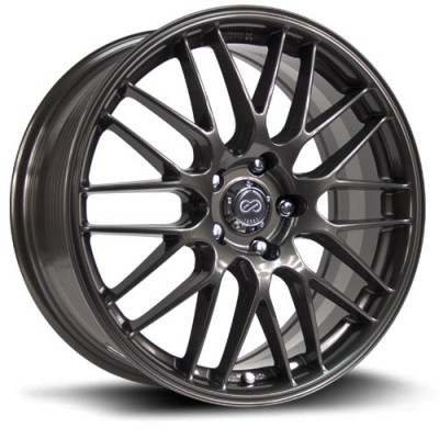 Enkei EKM3 Gun Metal wheel (18X7.5, 5x114.3, 73.1, 45 offset)