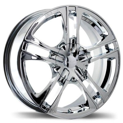 Fastwheels Reverb Chrome wheel (15X7, 5x115, 73, 40 offset)