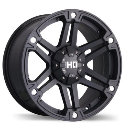 Fastwheels Reactor Matte Black wheel (18X9, 6x139.7, 108.1, 25 offset)