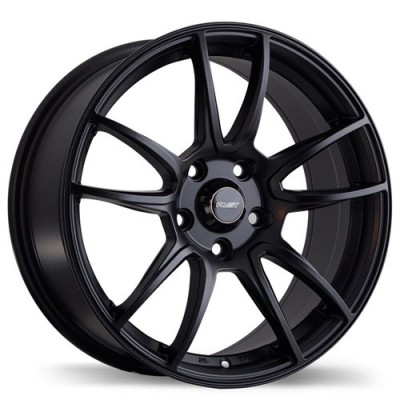 Fastwheels F178 Pathogen , 17x7.5 , 5x108 , (offset/deport 42 ) , 63.3 , Satin Black/Noir satine