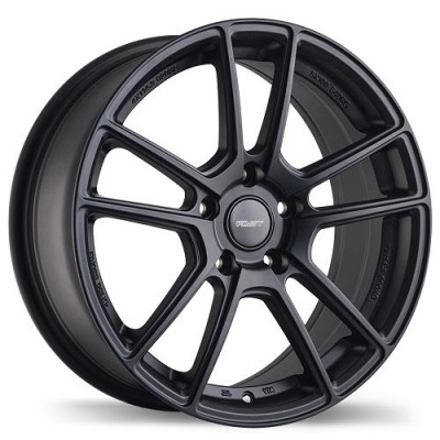 Fastwheels F180 Nemesis , 18x9.0 , 5x114.3 , (offset/deport 35 ) , 73 , Satin Black/Noir satine