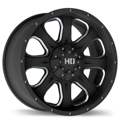 Fastwheels C4 Matte Black wheel (20X9, 5x135, 87, 25 offset)