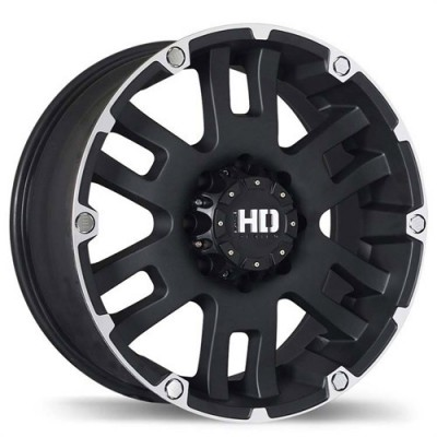 Fastwheels Mammoth Matte Black wheel (20X9, 8x165.1, 130.1, 20 offset)