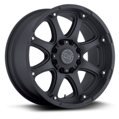 Black Rhino Glamis Black wheel (17X9, 5x139.7, 78.1, 0 offset)