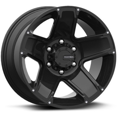 Mamba M13 Matte Black wheel (17X9, 5x139.7, 108.1, 19 offset)