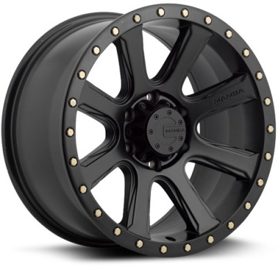 Mamba M16 Matte Black wheel (17X9, 5x139.7, 108.1, 19 offset)