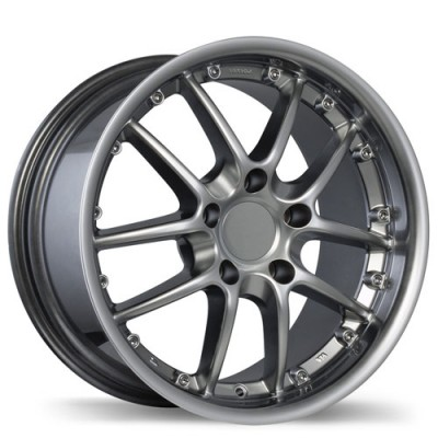 Replika Wheels R68 Platinum wheel (18X10, 5x130, 71.5, 50 offset)