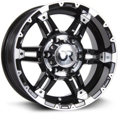 RTX Wheels Assault II Machine Black wheel (20X9, 5x139.7, 78.1, 0 offset)