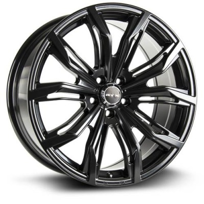 RTX Wheels Black Widow Satin Black wheel (17X7.5, 5x112, 66.6, 42 offset)