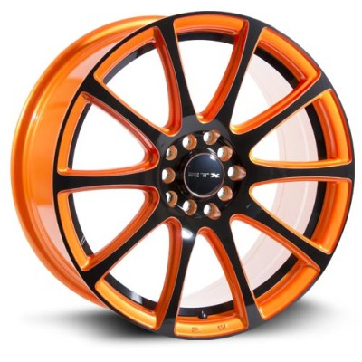 RTX Wheels Blaze Orange wheel (17X7.5, 5x100/114, 73.1, 42 offset)
