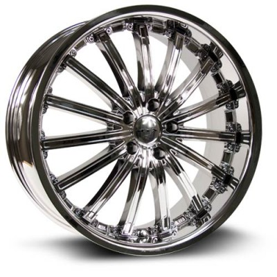 RTX Wheels Elite Chrome Plated wheel (20X8.5, 5x114.3, 73.1, 38 offset)