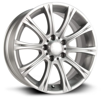 RTX Wheels Hamburg Silver wheel (18X8, 5x120, 72.6, 35 offset)