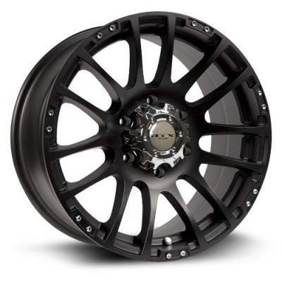 RTX Wheels Nomad Matte Black wheel (17X8, 6x139.7, 78.1, 36 offset)