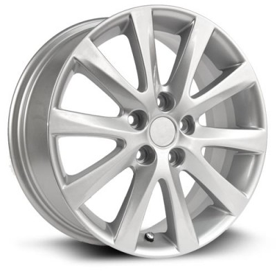 RTX Wheels Osaka Silver wheel (17X7, 5x114.3, 67.1, 55 offset)