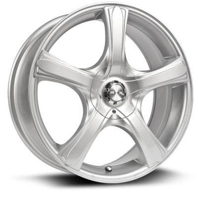 RTX Wheels S5, Argent/Silver, 16X7, 5x114.3/120 ( offset/deport 38), 73.1