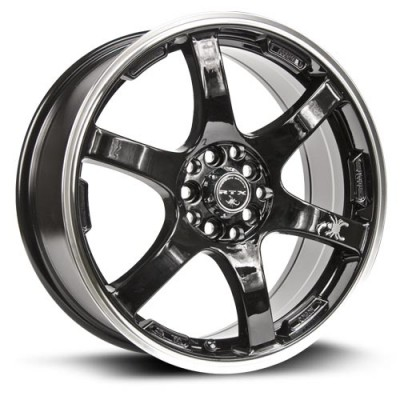 RTX Wheels Scorpion Machine Black wheel (17X7, 5x100/114.3, 73.1, 42 offset)