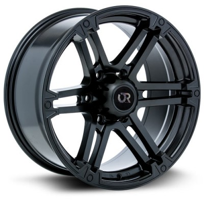 RTX Wheels Slate Satin Black wheel (17X8, 6x139.7, 106.1, 25 offset)