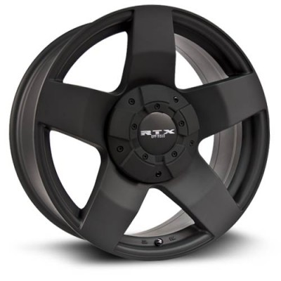 RTX Wheels Thunder Matte Black wheel (17X8, 8x180, 125, 10 offset)