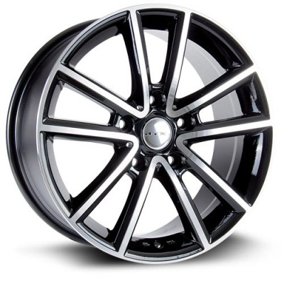 RTX Wheels Auburn Machine Black wheel (17X7.5, 5x127, 71.5, 35 offset)