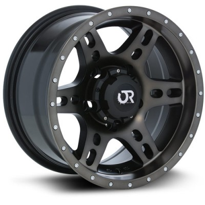 RTX Wheels Delta Black wheel (18X9, 6x139.7, 106.1, 10 offset)