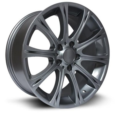 RTX Wheels Hamburg Gun Metal wheel (17X8, 5x120, 72.6, 35 offset)