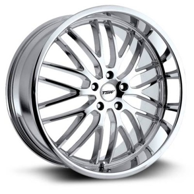 TSW Wheels Snetterton Chrome wheel (17X8, 5x114.3, 76, 40 offset)