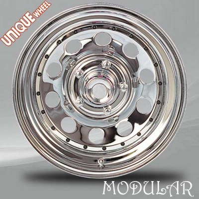 Unique Wheel Modular Chrome wheel (16X8, 8x165.1, 130.81, 0 offset)
