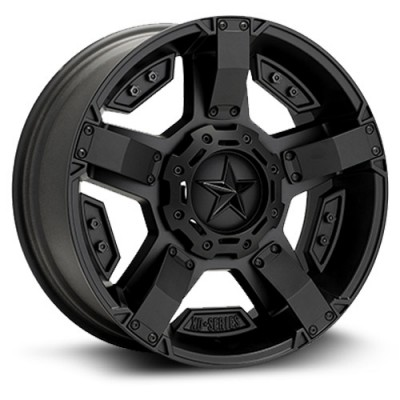 XD Series Rock Star II Satin Black wheel (20X9, 5x127/139.7, 78.1, 18 offset)