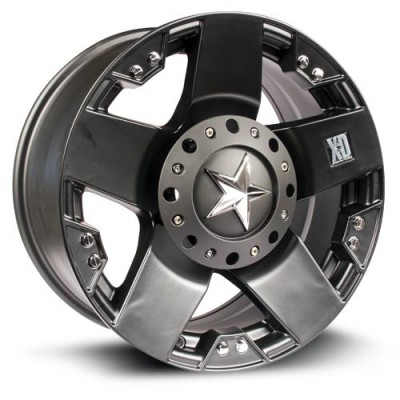 XD Series Rockstar Matte Black wheel (18X9, 6x135/139.7, 106.1, 0 offset)