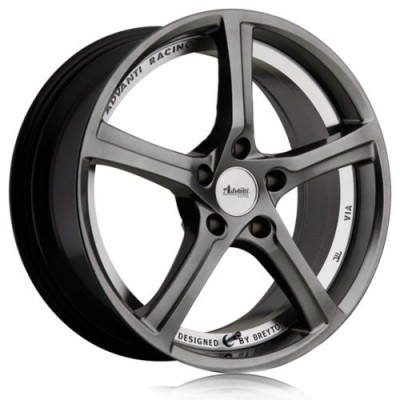 Advanti 15Th Anniversary Titanium wheel (18X8.0, 5x112, 66.6, 50 offset)