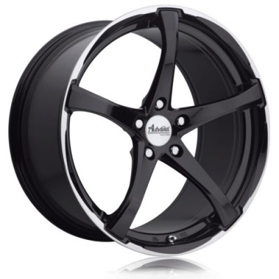 Advanti Denaro Gloss Black wheel (17X7.0, 5x114.3, 73.1, 42 offset)