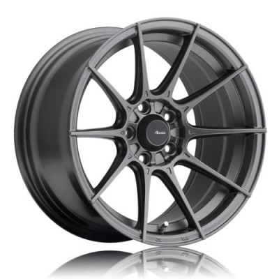 Advanti Storm S1 Dark Matte Grey wheel (15X7, 4x100, 73.1, 35 offset)