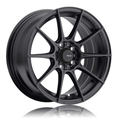 Advanti Storm S1 Matte Black wheel (15X8, 4x100, 73.1, 25 offset)