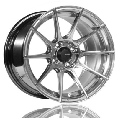 Advanti Storm S1 Titanium wheel (15X7, 4x100, 73.1, 35 offset)