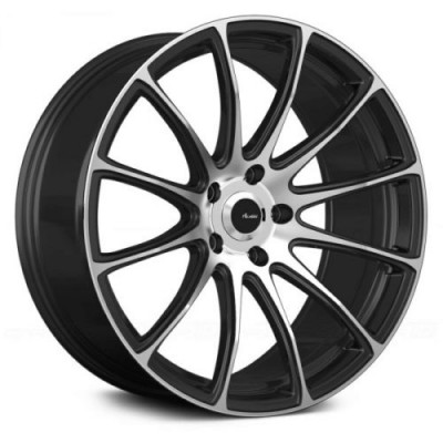 Advanti Svelto Matt Black Machine wheel (19X8.5, 5x120, 72.6, 45 offset)